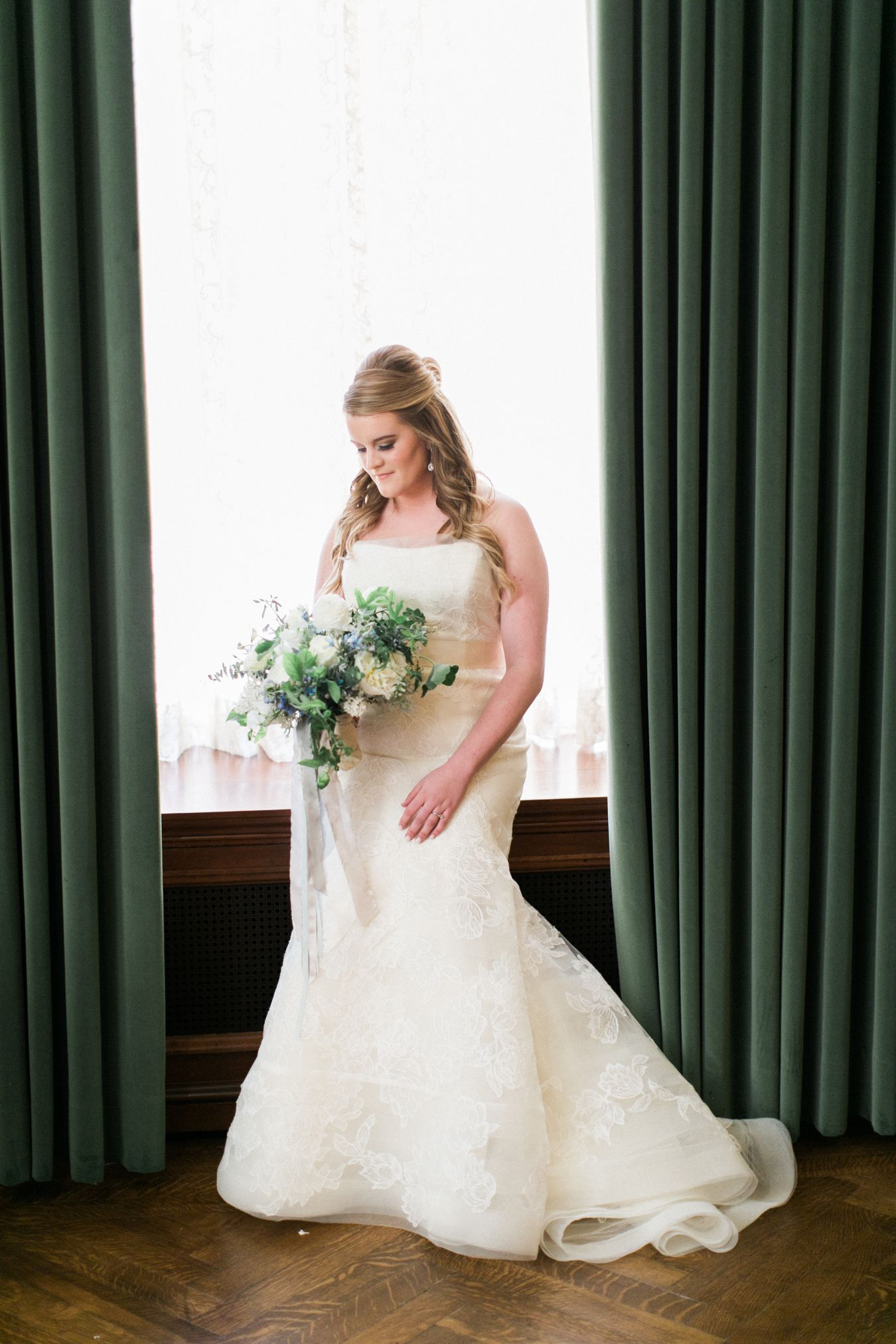 Vera Wang Bridal | Passionflower Events | Anchor Events | Detroit Athletic Club Wedding | Cory Weber Photography