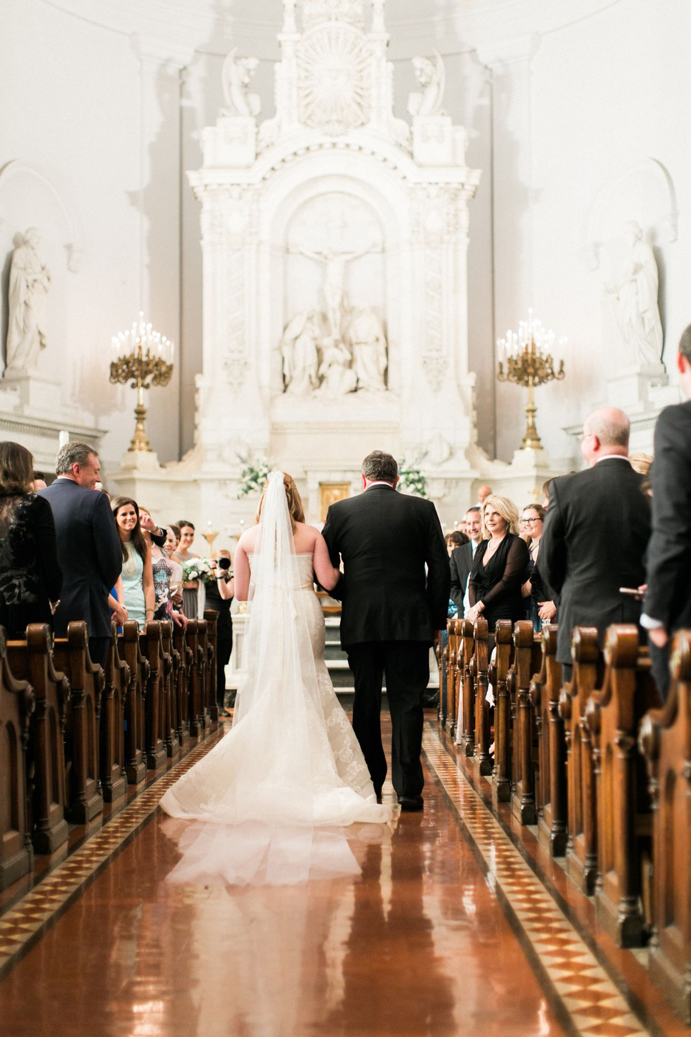 Saints Peter & Paul Jesuit Catholic Church | Detroit Wedding Photography