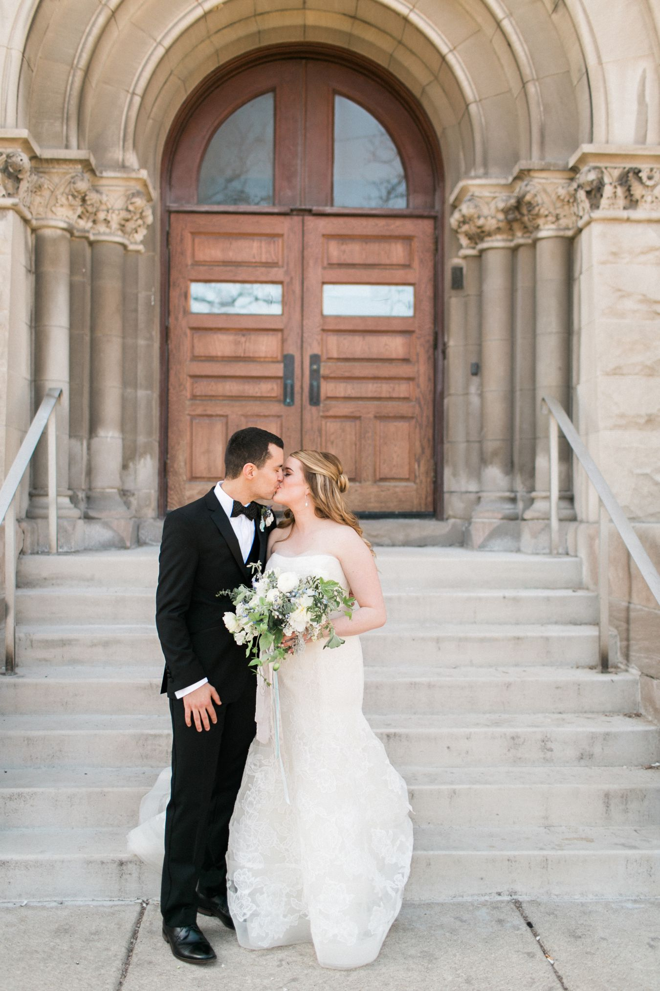 Saints Peter & Paul Jesuit Catholic Church Wedding | Detroit Michigan