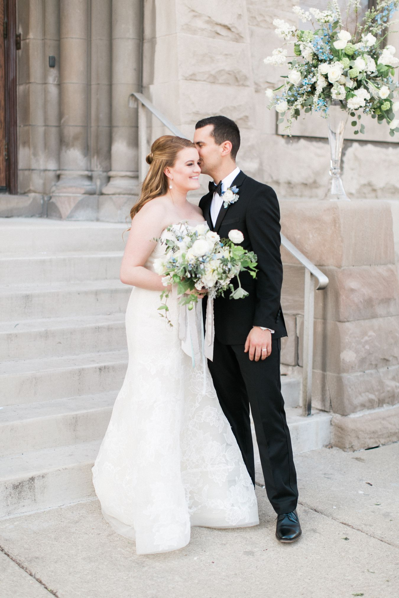 Detroit Wedding Photography | Passionflower Events | Vera Wang bridal