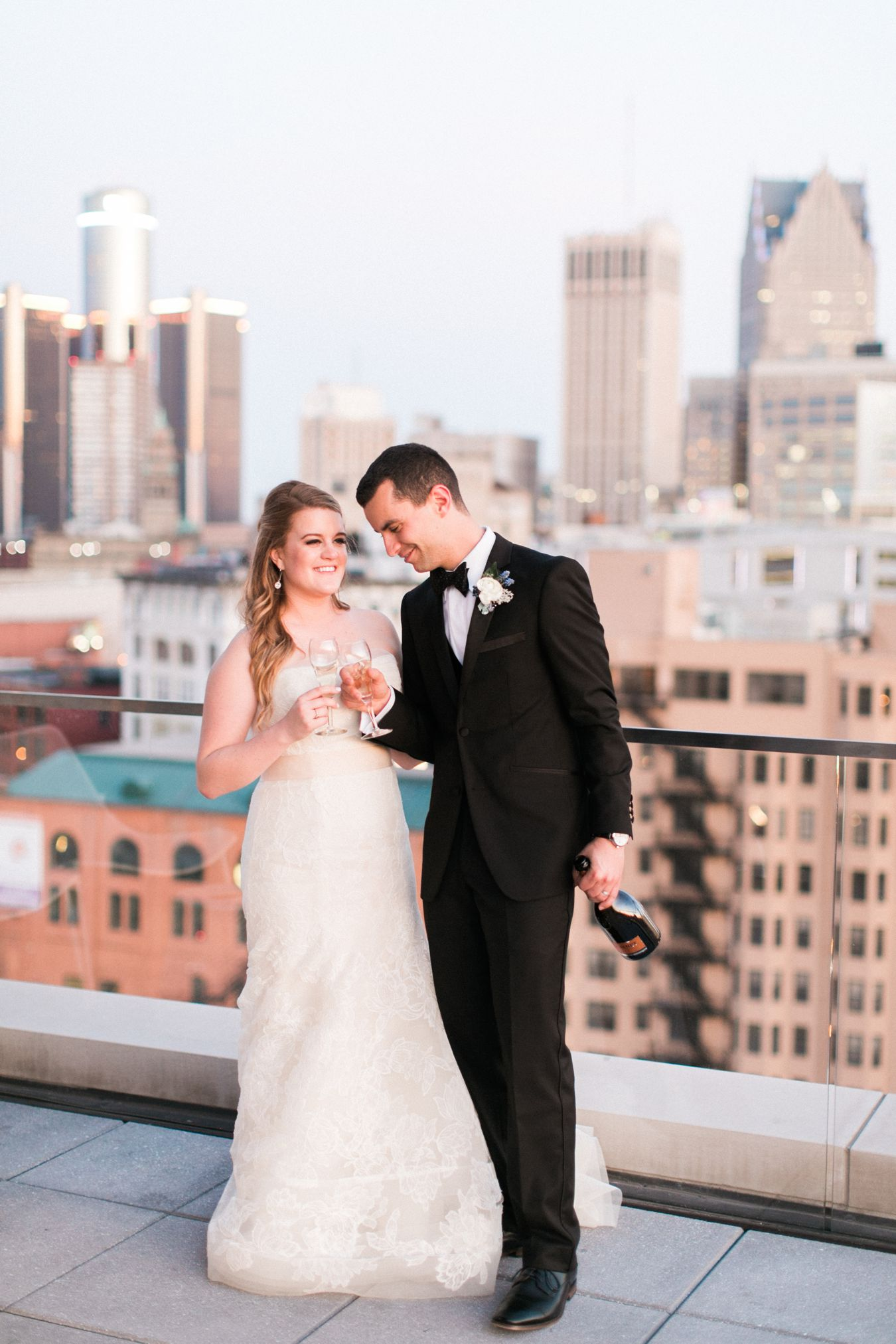 Detroit Athletic Club Wedding Photography | Anchor Events | Cory Weber Photography