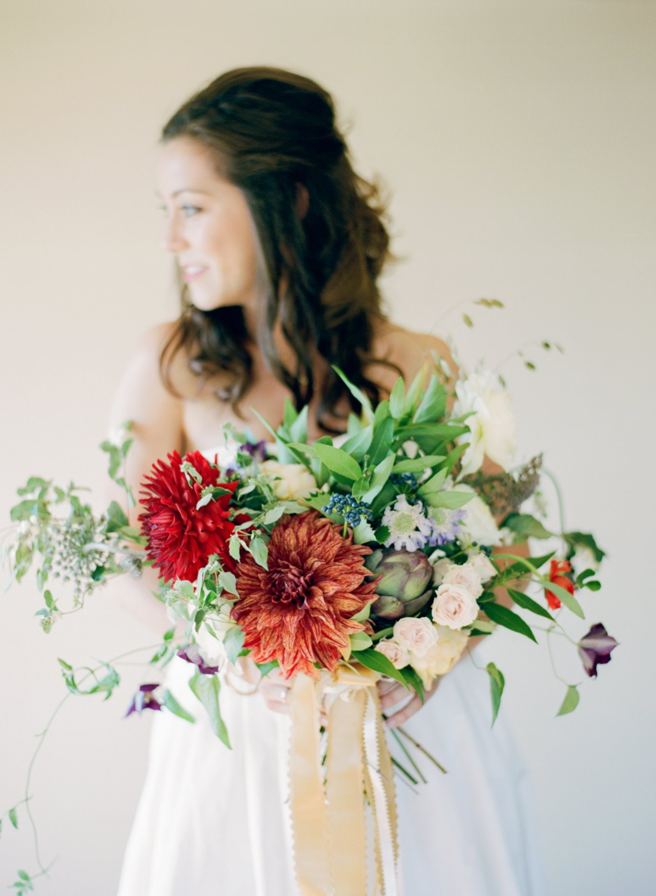 The Day's Design Floral | Bright & Bold bouquet | Cory Weber Photography