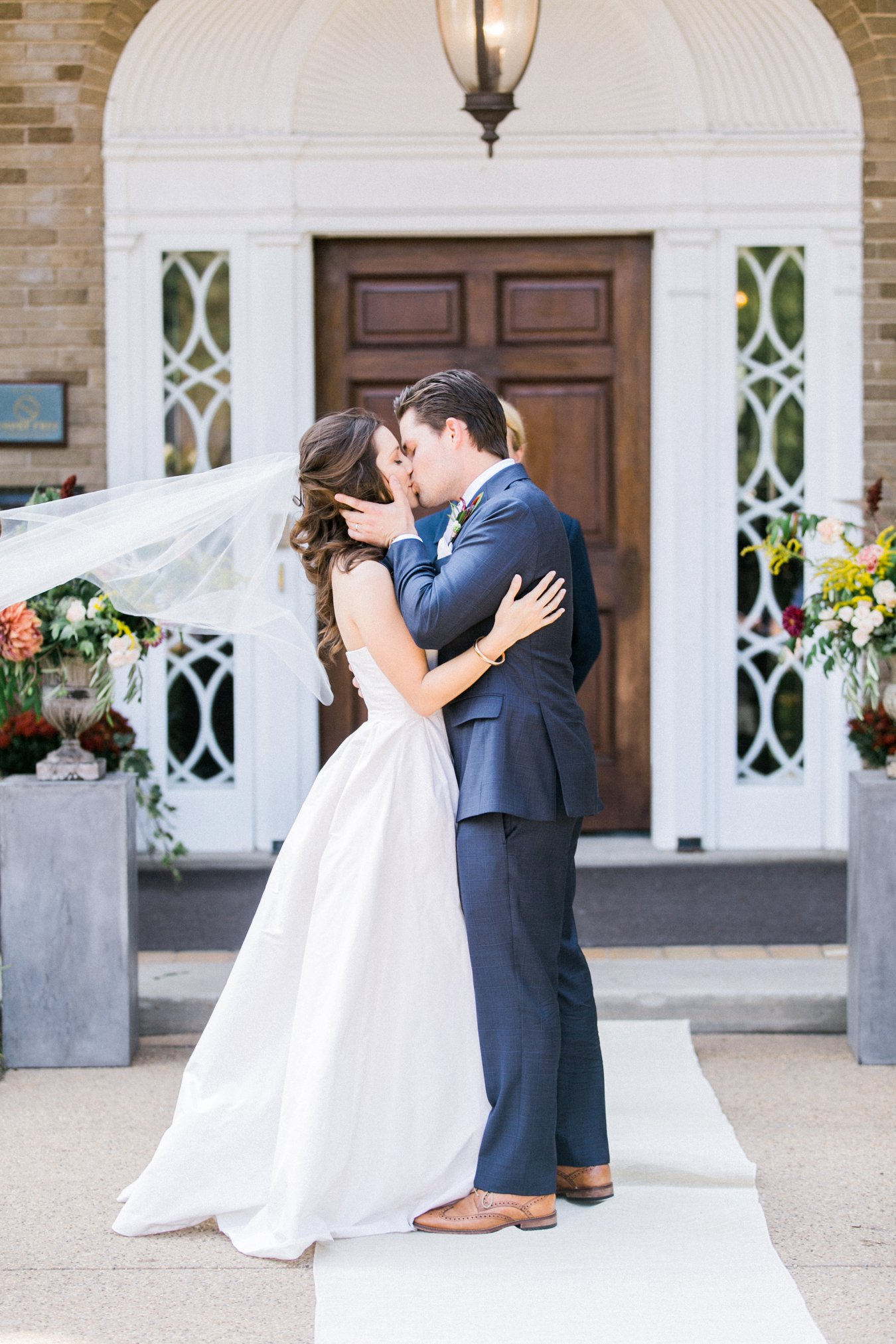 The Felt Mansion Holland Michigan Wedding Ceremony | Cory Weber Photography