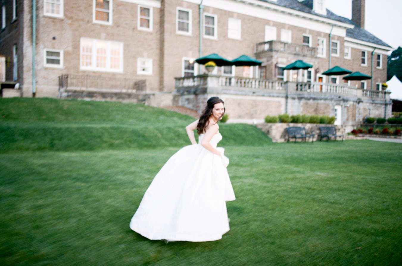 Beautiful Bride | J.Crew gown | The Felt Mansion Holland Michigan | Cory Weber Photography