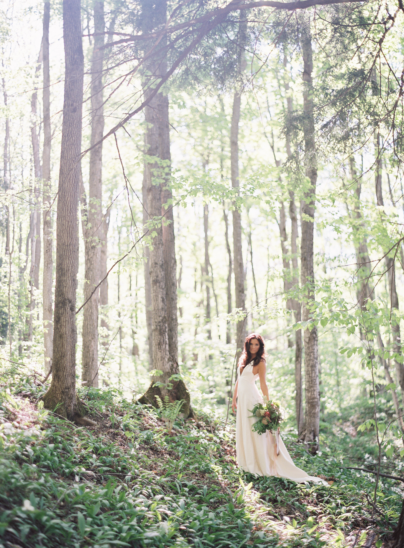 Trillium & Morel Wedding Inspiration | Published Michigan Film Photographer | Cory Weber Photography