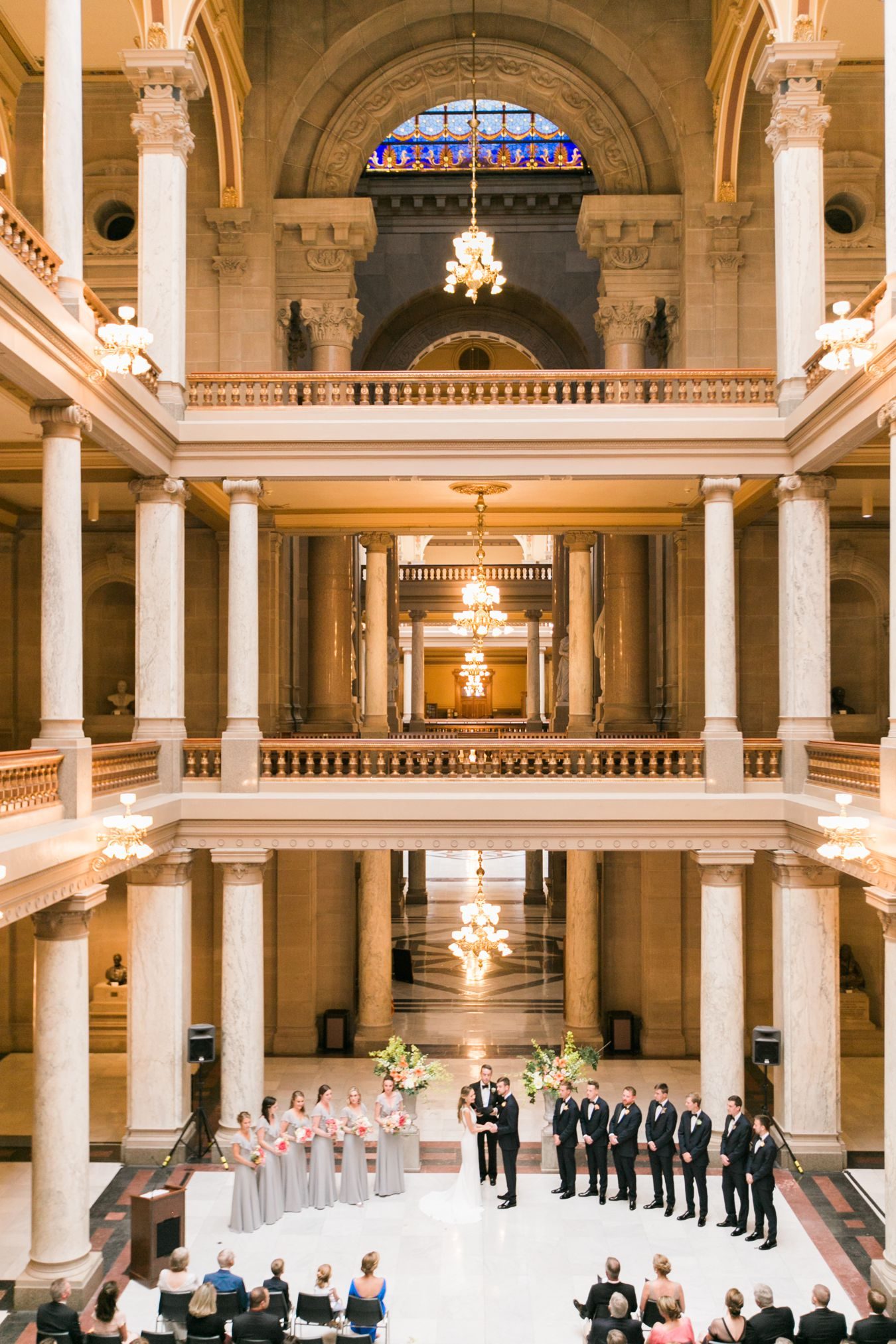 Downtown Indianapolis Wedding Photography | Cory Weber Photography