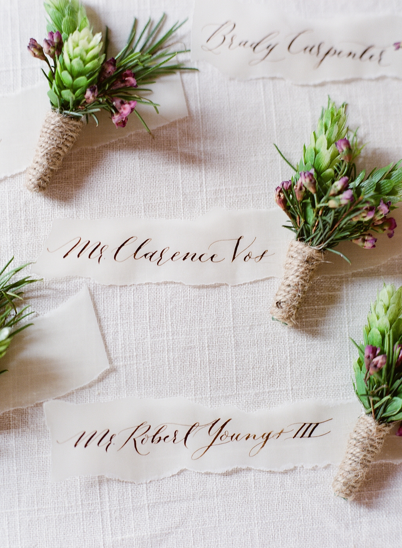 Petit Fleur Hops Boutonniere | Traverse City Mi Wedding Photography | Cory Weber Photography | Sincerely, Ginger Event Design & Production